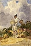 Madeira Boy carrying Mellados & Rapadouros